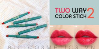 Milimage Two Way Color Stick mua o bici